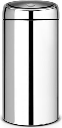 Ведро для мусора 45л сталь полированная Brabantia TOUCH BIN 390821