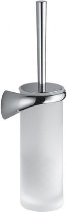 Туалетный ёрш стекло/хром, сатин Colombo LINK B2407.DX.SAT