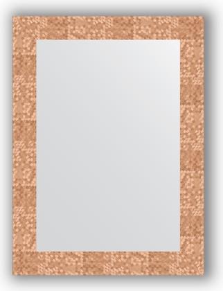 Зеркало в багетной раме 56x76см соты медь 70мм Evoform BY 3050