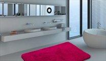 Коврик для ванной 60x100см малиновый Grund LEX 2622.16.4144