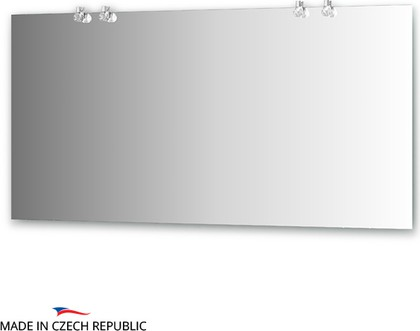 Зеркало со светильниками 150х75см Ellux CRY-D4 0218