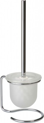 Ёрш для туалета напольный стекло/хром Bemeta Omega 104113102
