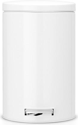 Ведро для мусора 12л с педалью, MotionControl, белый Brabantia 478024