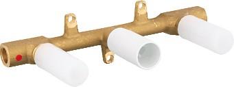 """Скрытая часть для двухвентильного смесителя на 3 отверстия для раковины, 1/2"""" Grohe 32706000"""