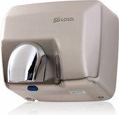 Сушилка для рук автоматическая, сатиновый металл LOSDI CS-500S/X-L