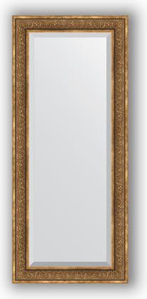 Зеркало с фацетом в багетной раме 69x159см вензель бронзовый 101мм Evoform BY 3578