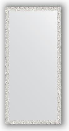 Зеркало в багетной раме 71x151см чеканка белая 46мм Evoform BY 3322