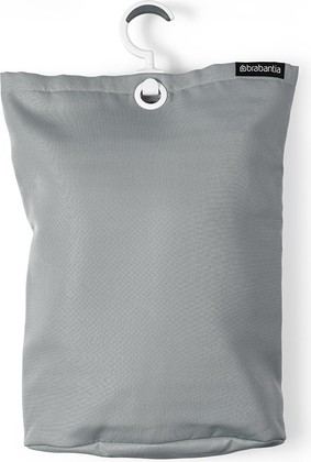 Подвесная сумка для белья, 35л светло-серая Brabantia 105906