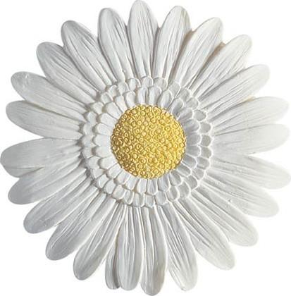 Декор для ванной белый, 2шт Spirella GERBERA 1042988