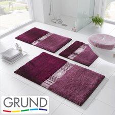 Мягкие и неповторимые коврики для ванной комнаты и туалета Grund