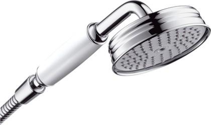 Душ ручной, 1 вид струи, белый/хром Hansgrohe AXOR Montreux 16320000