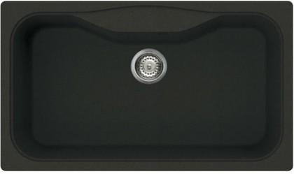 Кухонная мойка без крыла, гранит, чёрный Omoikiri Maru 86-BL 4993138