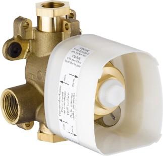 Скрытая часть для термостата 12x12, СМ, ¾' Hansgrohe AXOR ShowerCollection 10754180