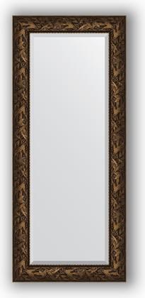Зеркало с фацетом в багетной раме 64x149см византия бронза 99мм Evoform BY 3547