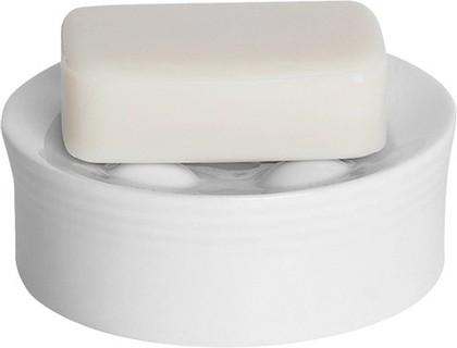 Мыльница белая рельефная Spirella OPERA 1007714