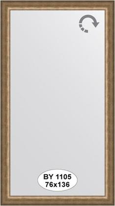 Зеркало 76x136см в багетной раме старая бронза Evoform BY 1105