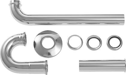 Трубчатый сифон для умывальника Duravit 50260000