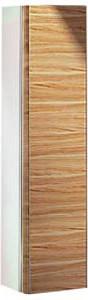 Высокий шкаф-пенал, петли справа, белый глянцевый / шпон оливы Keuco EDITION 300 30311389102