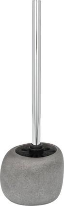 Ёрш для туалета с подставкой, серый Wenko PEBBLE STONE 19492100