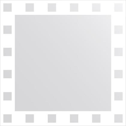 Зеркало для ванной с орнаментом 60x60см FBS CZ 0737