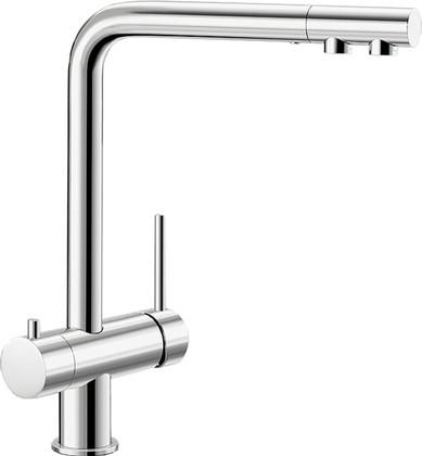 Смеситель кухонный однорычажный с высоким изливом для обычной и питьевой воды, хром Blanco FONTAS 515581