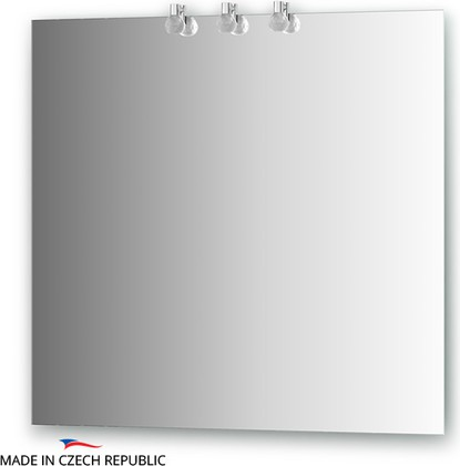 Зеркало 80х75см со светильниками Ellux CRY-B3 0211