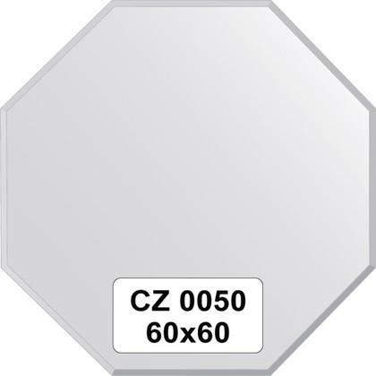 Зеркало для ванной 60x60см с фацетом 10мм FBS CZ 0050