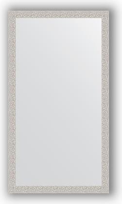 Зеркало в багетной раме 61x111см мозаика хром 46мм Evoform BY 3196