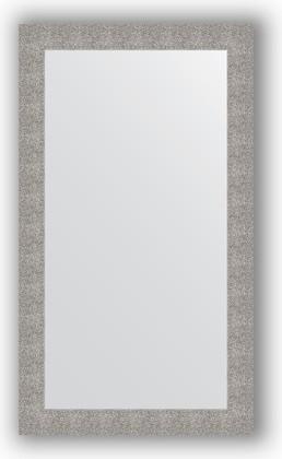 Зеркало в багетной раме 80x140см чеканка серебряная 90мм Evoform BY 3311