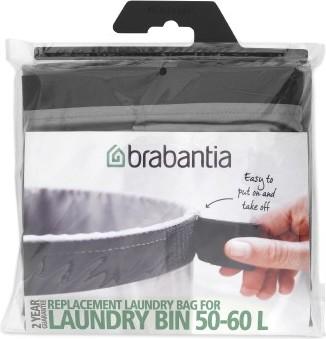 Мешок для бака для белья, 60л серый Brabantia 102363