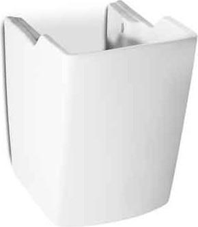 Пьедестал полупьедестал для раковины, белый Roca HALL 337621000