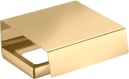 Держатель туалетной бумаги с крышкой, золото Colombo LULU B6291.gold