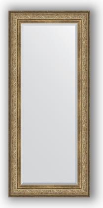 Зеркало с фацетом в багетной раме 70x160см виньетка античная бронза 109мм Evoform BY 3581