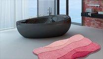 Коврик для ванной 60x60см старая роза Grund CURTS 2570.64.149
