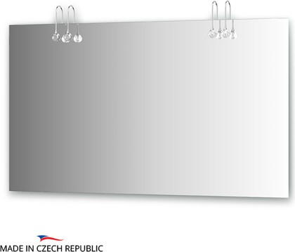 Зеркало 130х75см со светильниками Ellux CRY-C4 0216