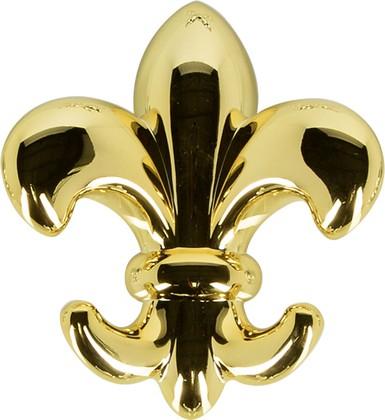 Крючок самоклеящийся, золото Spirella LILY 1017996