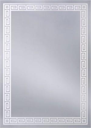 Зеркало 50x70см с декоративным белым принтом Dubiel Vitrum LUSTRO N2 5905241904962