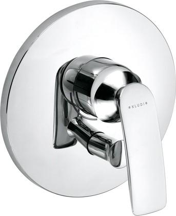 Смеситель для ванны встраиваемый однорычажный без излива, хром Kludi BALANCE 526500575