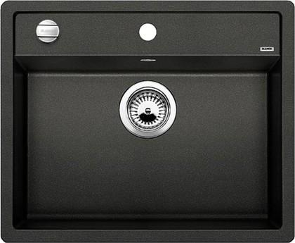 Кухонная мойка без крыла, с клапаном-автоматом, гранит, антрацит Blanco DALAGO 6-F 514773