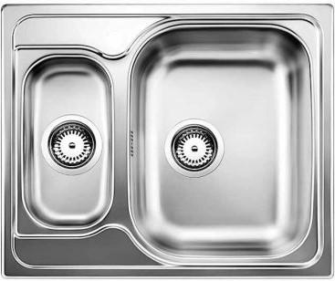 Кухонная мойка оборачиваемая без крыла, нержавеющая сталь полированная Blanco TIPO 6 Basic 514813