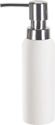 Ёмкость для жидкого мыла фарфоровая белая Kleine Wolke PUR 5055100854