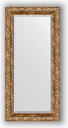 Зеркало с фацетом в багетной раме 55x115см виньетка античная бронза 85мм Evoform BY 3488