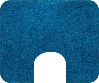 Коврик с вырезом под туалет 50x60см бирюзовый Grund MELOS WC 2559.06.4135