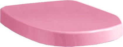 Сиденье для унитаза с крышкой, микролифт, розовое Laufen MIMO 8.9255.1.345.000.1