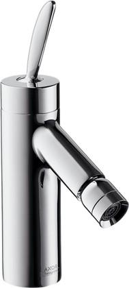 Смеситель однорычажный с донным клапаном для биде, хром Hansgrohe AXOR Starck 10200000