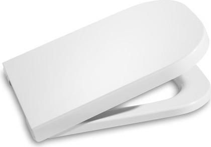 """Компактное лакированное сиденье и крышка для унитаза с механизмом """"мягкое закрывание"""", белый Roca DAMA 80178C004"""