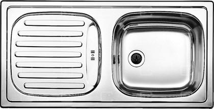 Кухонная мойка оборачиваемая с крылом, нержавеющая сталь матовой полировки Blanco FLEX 511917