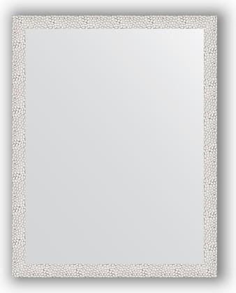 Зеркало в багетной раме 71x91см чеканка белая 46мм Evoform BY 3258