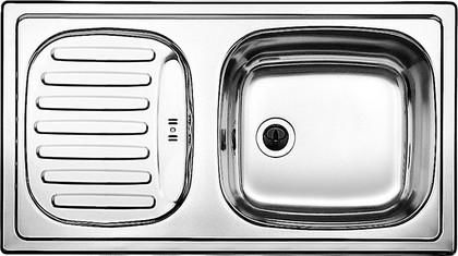 Кухонная мойка оборачиваемая с крылом, нержавеющая сталь матовой полировки Blanco FLEX mini 511918