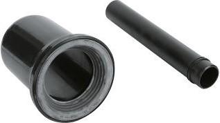 Впускной и смывной гарнитуры для унитаза, чёрный Grohe 37104K00